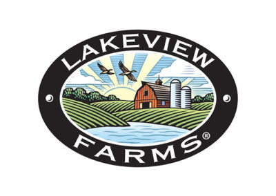 Lakeview Farms Oval brand