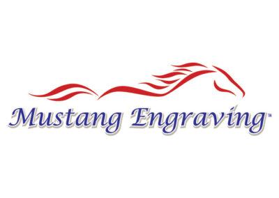 Mustang Engraving